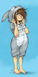 -Totoro Kigurumi- by oomizuao