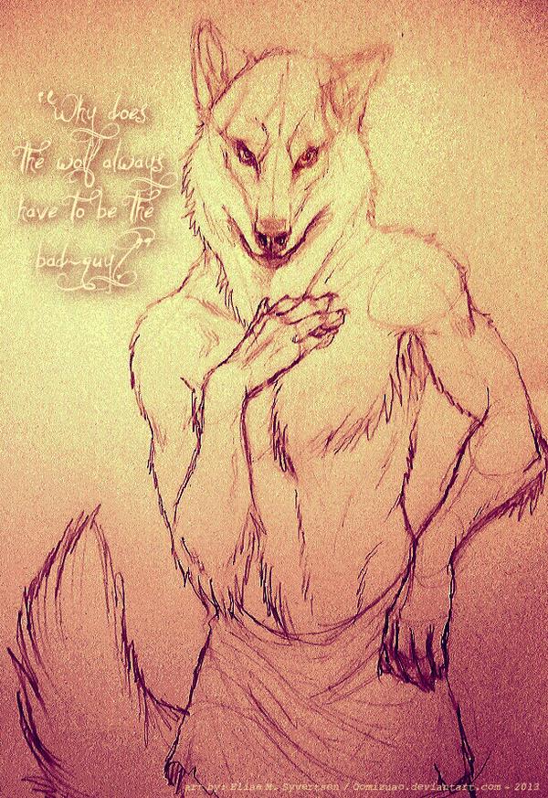 Faoladh - Irish Werewolf by oomizuao