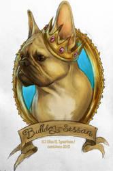 Marcie the Bulldog Princess by oomizuao
