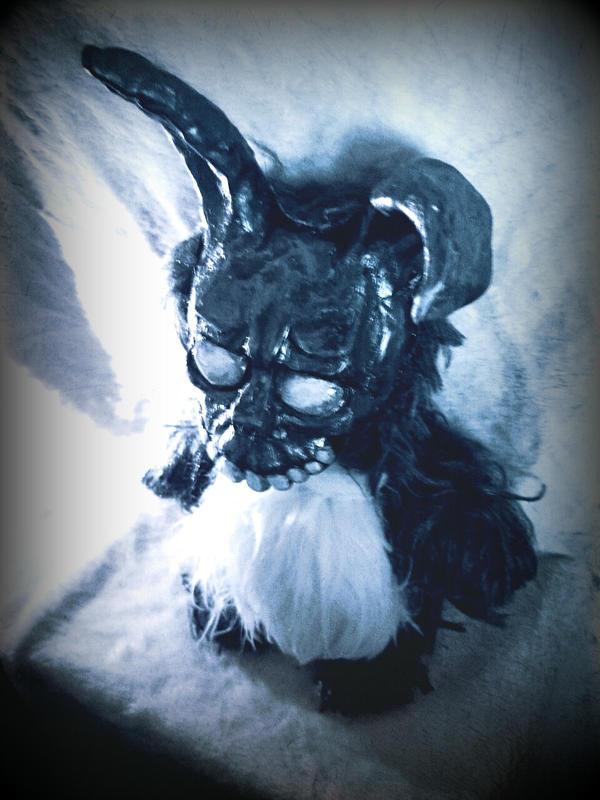 Frank the Bunny doll - homemade by oomizuao