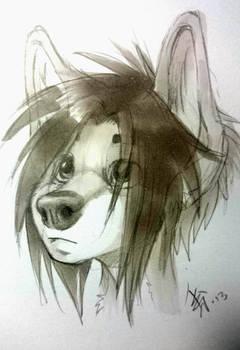 sketch dec25th2013 - little Spike by oomizuao