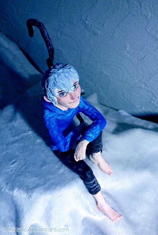 FanArt - Jack Frost sculpture by oomizuao