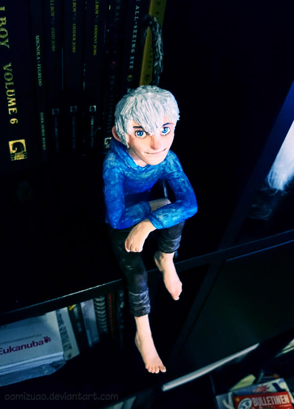 jack frost sculpture by oomizuao