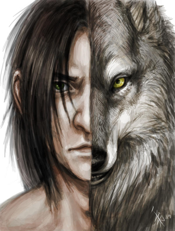 -Inner Wolf- by oomizuao