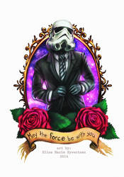 Stormtrooper tattoo design by oomizuao