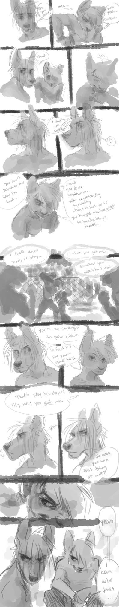 Cage Fight - scene idea