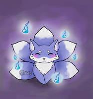 Cute Kitsune by Silveztra