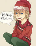 Nell wishes Merry Christmas by NellGrey14