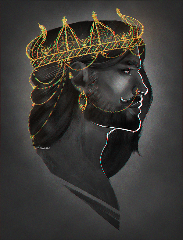 the king by domirine