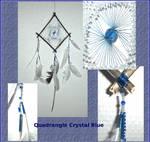 Quadrangle Crystal Blue