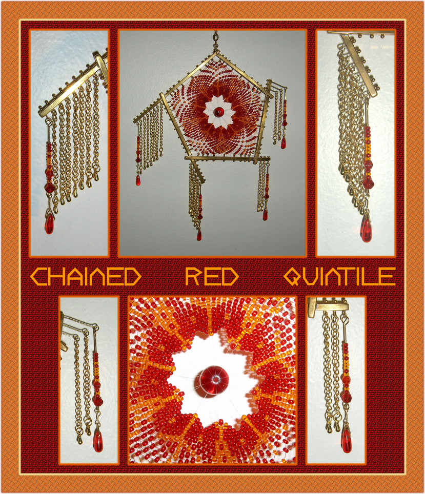 Chained Red Quintile by ChimeraDragonfang