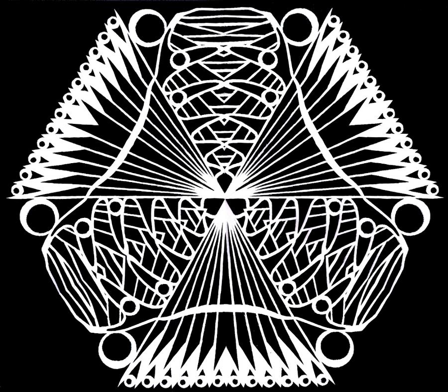 Abstract Flake 7 - Becquerel by ChimeraDragonfang