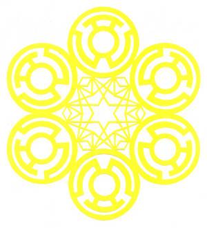 Sinestro Corps Flake
