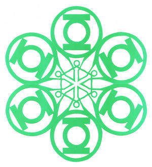Green Lantern Flake