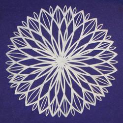 Abstract Flake 8 - Lotus