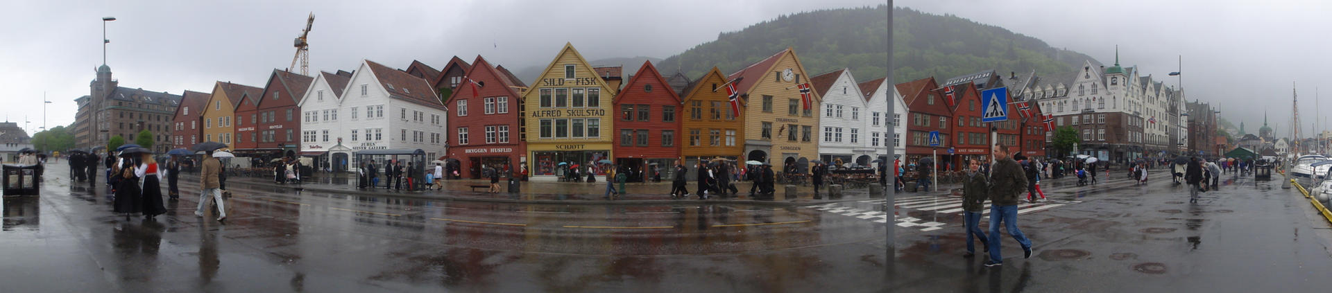 Typical Bergen Weather by ChimeraDragonfang