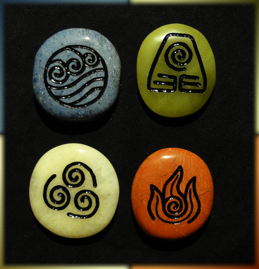 Avatar Stones by ChimeraDragonfang