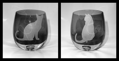 Cat Vase by ChimeraDragonfang