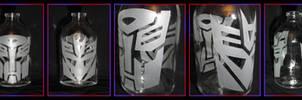 Sandblasted Bottle - Transformers G1