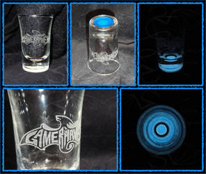 Gamer's Haven Shotglass