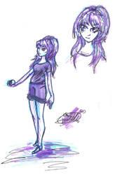 Poke-girl? sketch