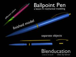 Ballpoint Pen by artislight
