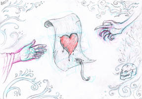 The Deed of My Heart by artislight