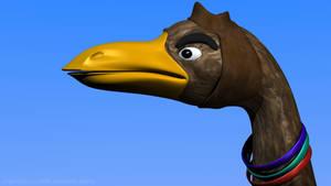 Cartoon Bird by artislight