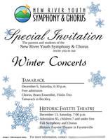 Winter Concert Invitation 2008 by artislight