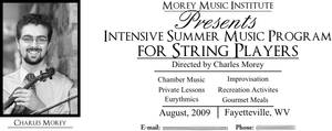 String Summer Camp Ad