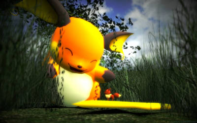 Macro-Theme - Pokemon - Raichu V2 by KlonoaausWinddorf