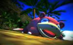 Macro-Theme - Pokemon - Slowpoke