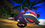 Macro-Theme - Pokemon - Slowpoke #1