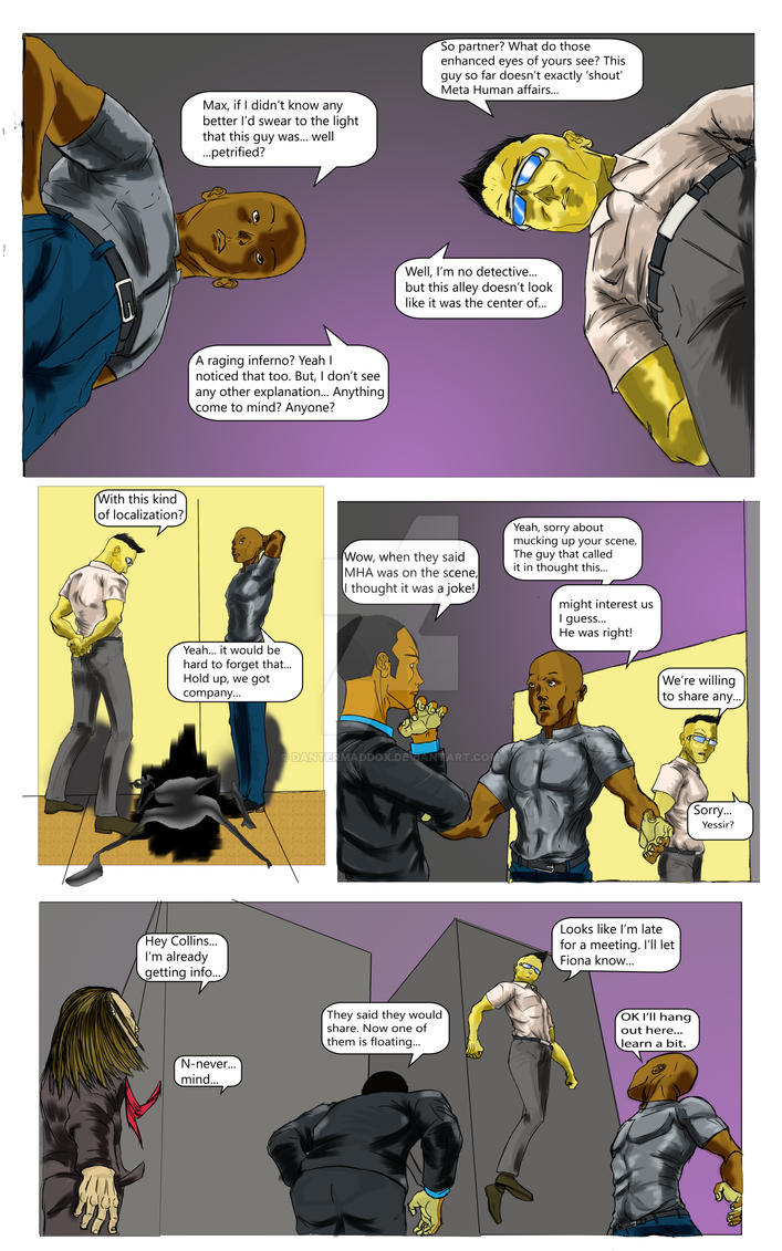 Page 6 issue 1 with words by DanteRMaddox