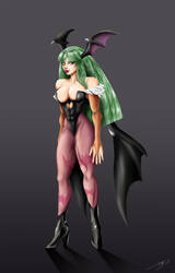 DS #3: Morrigan by marioPulido