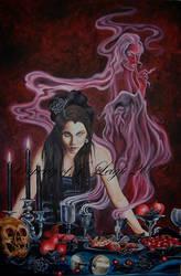 Surreal Darkness- Summoner by JLDragonfly