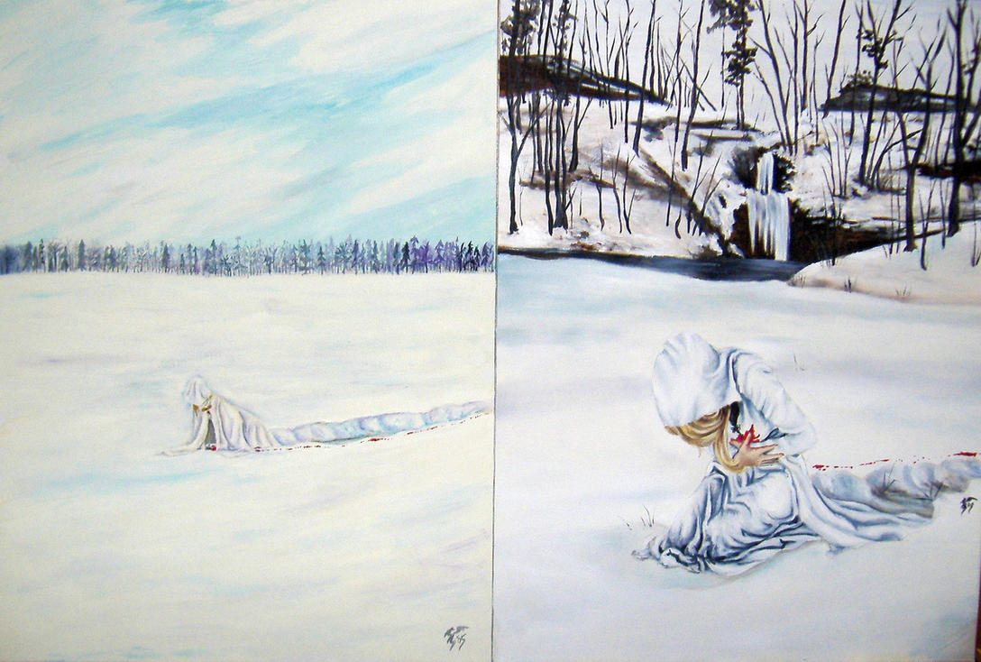 Snow- kickn my own ass by JLDragonfly