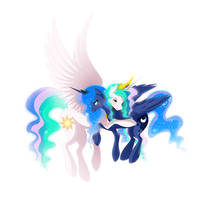 The Royal Sisters by Kittlums