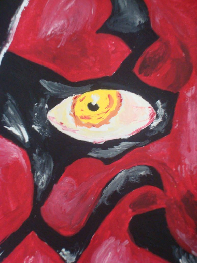 Darth Maul Close-up by emily0410