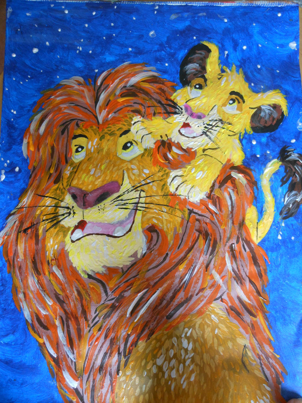 Father and Son by emily0410