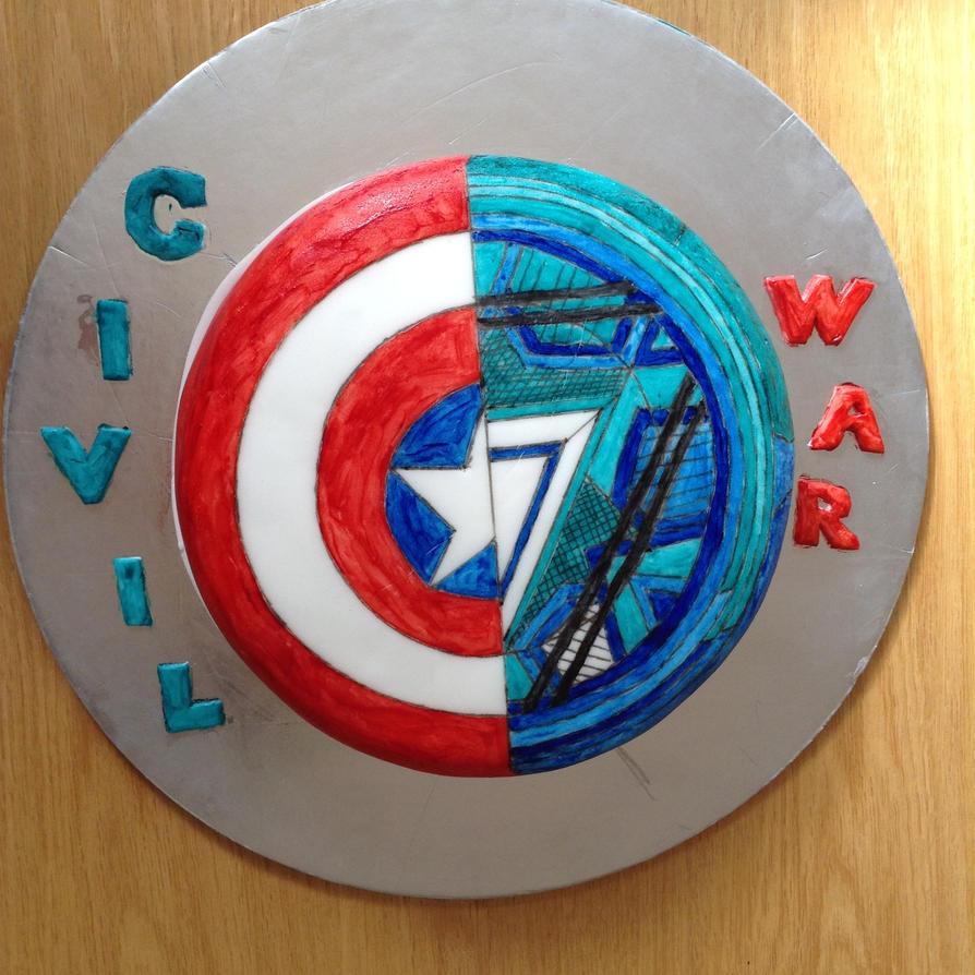 Cap: Civil War Cake by emily0410