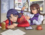 Commission - Misato + Shinji TG