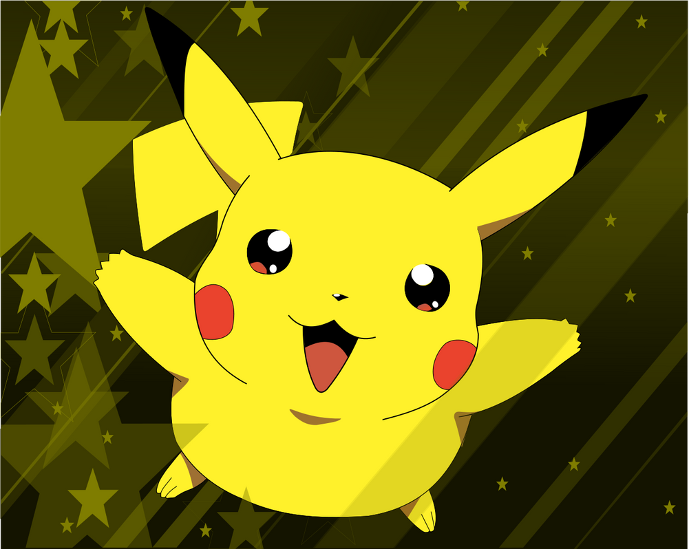 pikachu wallpaper. pikachu - wallpaper by cpt-doodle k