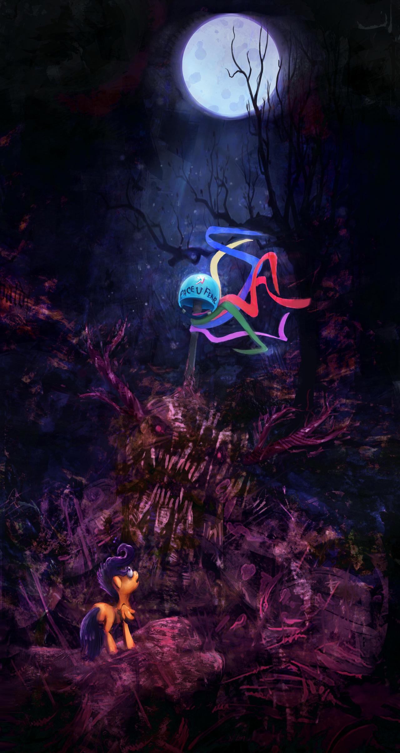 Stuck in nightmare by Miradge