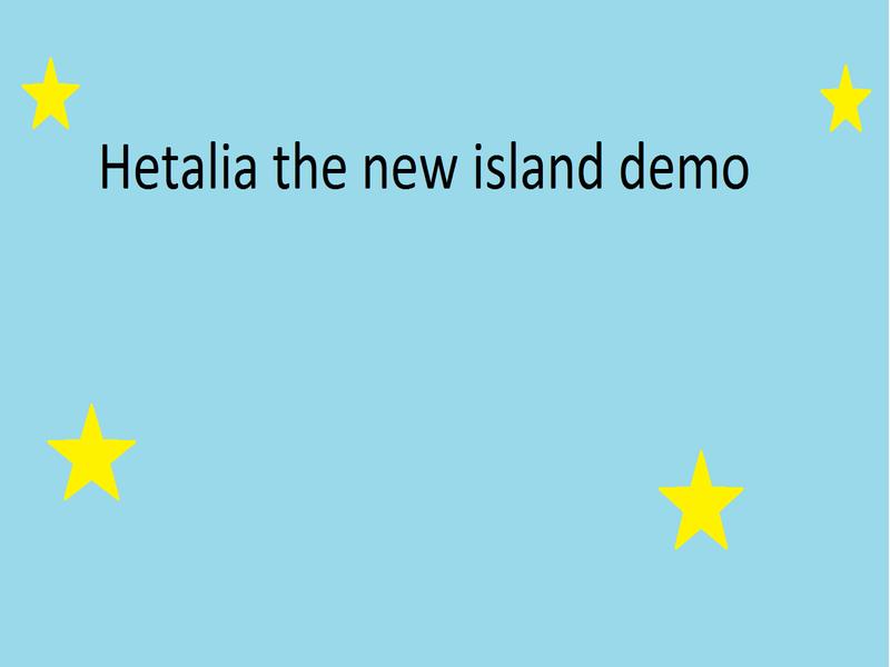 Hetalia dating sim demo