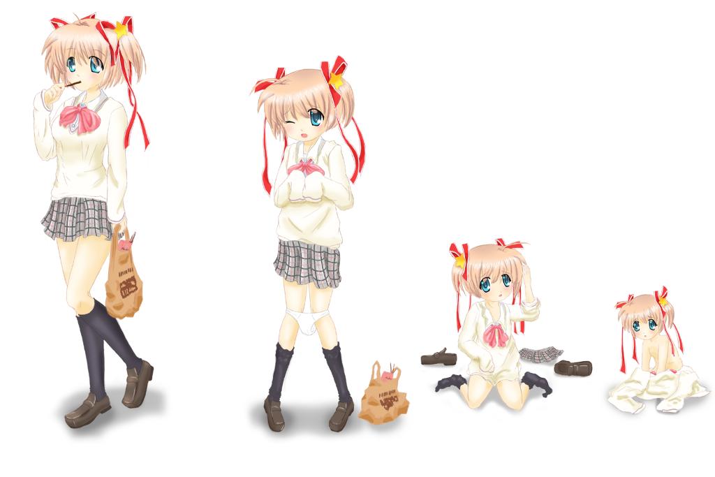 Age Progression Anime