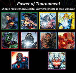 Tournament of Power - DC Universe by Simbiothero
