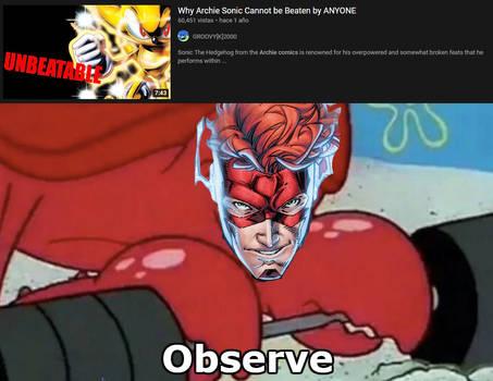Wally: My ass is Unbeatable.