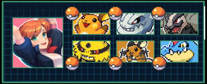Nora Valkyrie's Pokemon Team