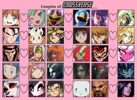 Crossverse Pairings 8